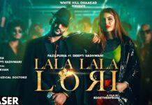Lala Lala Lori Lyrics Fazilpuria feat Deepti | Afsana | Jaani | SukhE | New Haryanvi Songs Haryanavi 2020